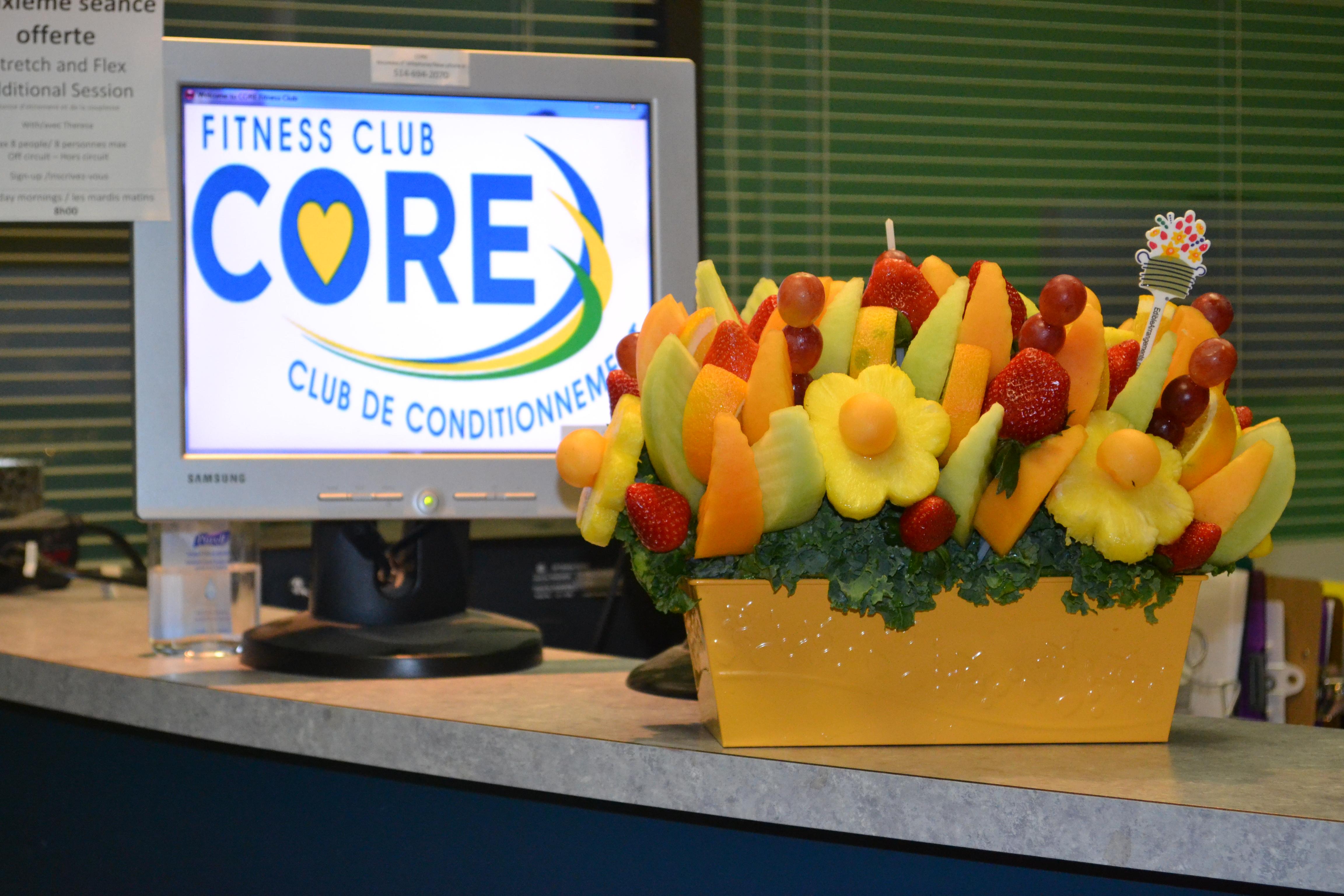 Fruit Bouquet - Yummy.  Thank you Jill